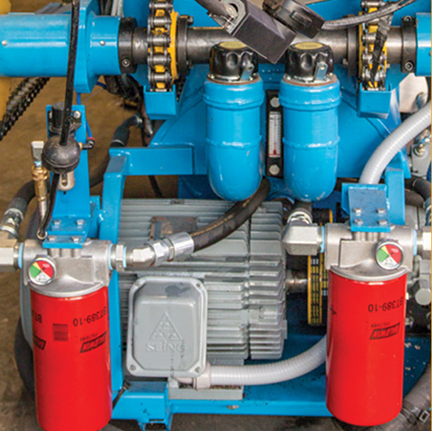 hydraulic pump systems